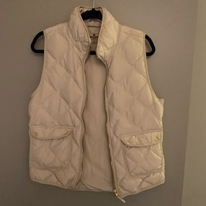 Woolrich Puffy Beige Vest Size Medium